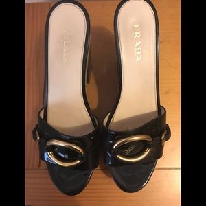 Shoes - Prada Platform Heels